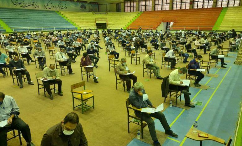 برگزاری آزمون کارشناسان رسمی دادگستری در خوزستان / رقابت ۲۵۲۰ داوطلب