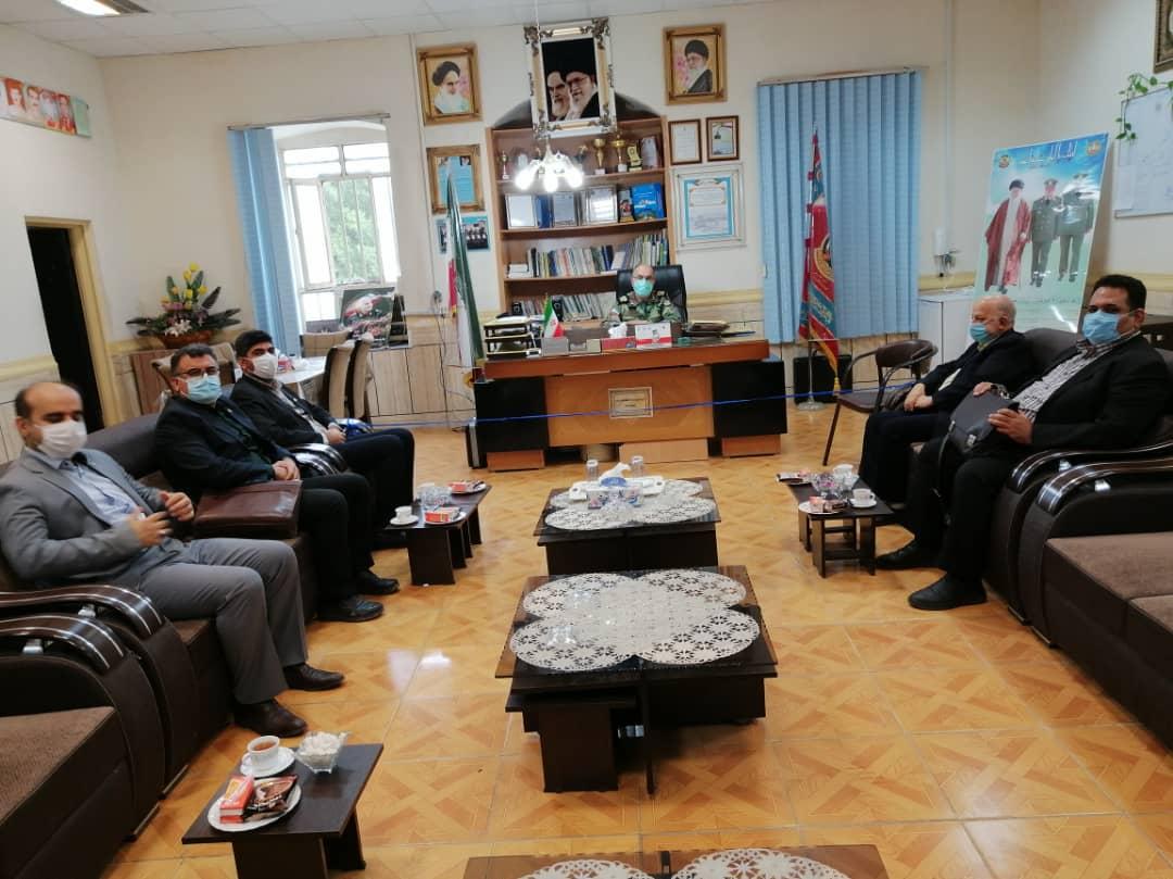 همکاری های مشترک مرکز کارشناسان دادگستری خوزستان و ارتش توسعه می یابد