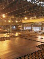 بزرگترین و مقاومترین ورق فولادی ایران در فولاد اکسین تولید شد/ نورد اولین اسلب ۳۰۰ میلیمتر ایرانی در فولاد اکسین با موفقیت انجام شد