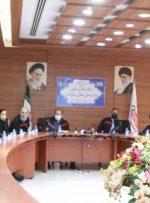 جلسه بررسی معیار رهبری در فولاد اکسین خوزستان