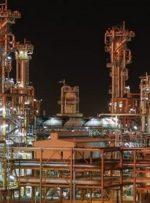 راه اندازی مخازن گاز پالایشگاه فازهای ۲۲ و ۲۴ پارس جنوبی با ورق های فولاد اکسین خوزستان