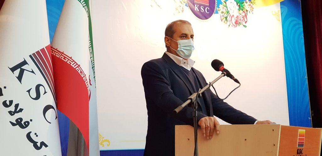 رضا طاهری رییس هیات مدیره:قطب دوم فولاد ایران جایگاه خود را تثبیت می کند