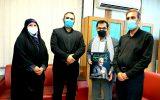 به مناسبت هفته دفاع مقدس انجام شد؛ تجلیل از مدیر روابط عمومی شرکت فولاد خوزستان